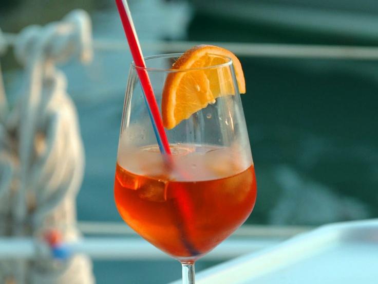 Aperol, new favorite beverage -- Aperol Spritz from CookingChannelTV ...