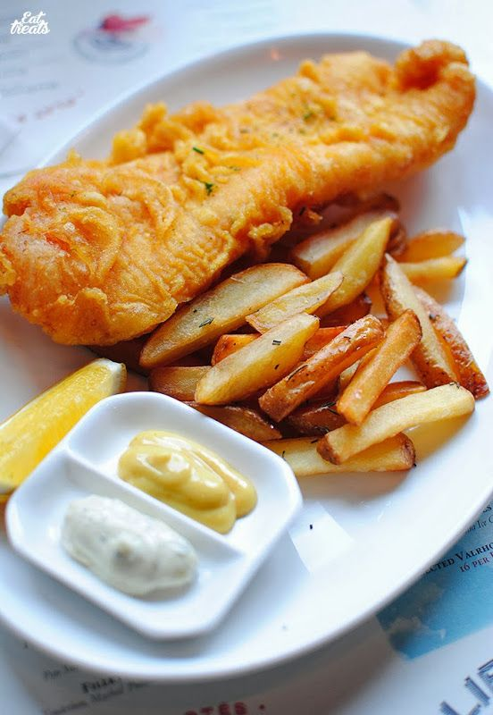 Beer battered fish and chips | To My Eyes Delight | Pinterest
