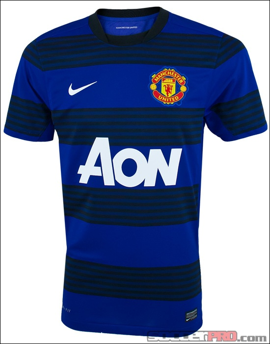 manchester united away kit long sleeve