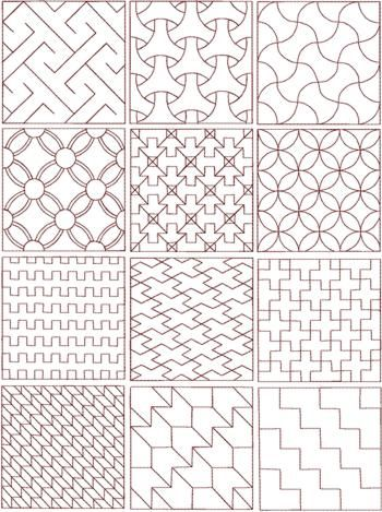 Knitting Pattern Design Templates : sashiko patterns Craft Ideas - sashiko Pinterest