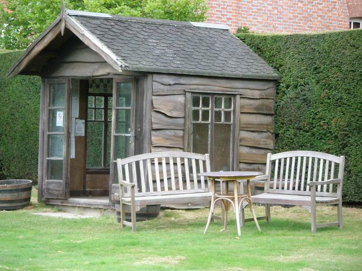 Cute Backyard Sheds : Cute shed  Outdoor Spaces,sheds and cottages  Pinterest