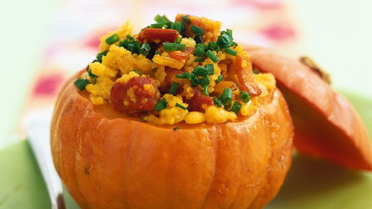 stuffed pumpkin | Recipes | Pinterest