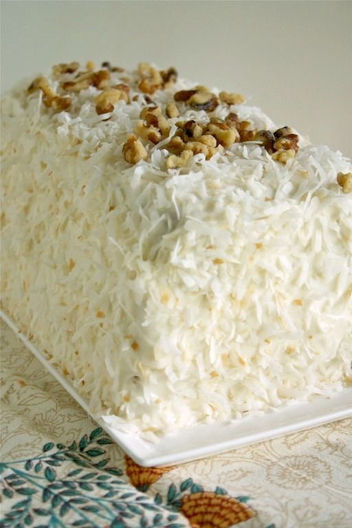 Billie's Italian Creme Cake - from @Ree Drummond   The Pioneer Woman'...