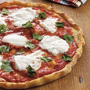 Gluten-Free Pizza   Pizza Margherita   CookingLight.com