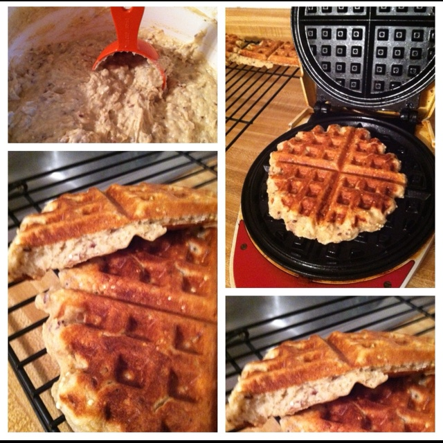 Gluten free multi-grain waffles from gluten free girl and the chef ...
