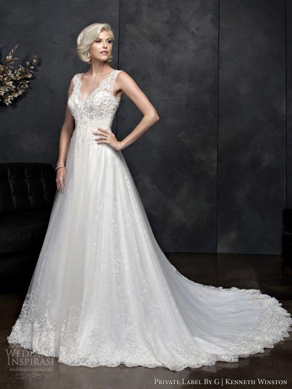 Kenneth winston spring 2014 wedding gowns pinterest