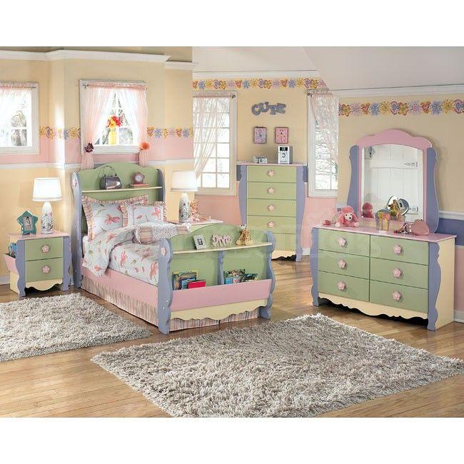 doll house sleigh bedroom set miniature bedrooms