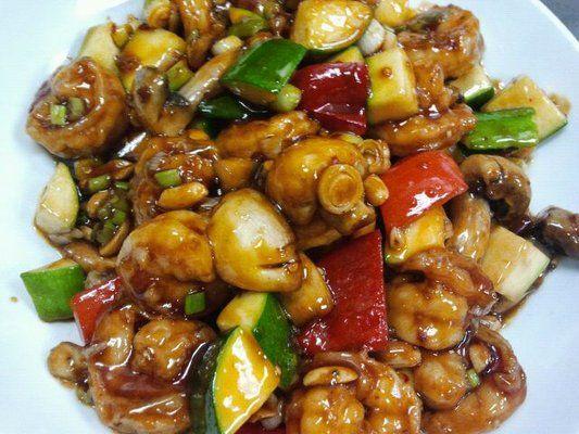 kung pao shrimp | Maple | Pinterest