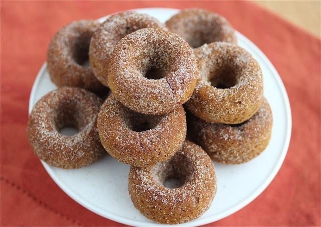 Gluten-Free Pumpkin Spice Donut Recipe #vegan #gf