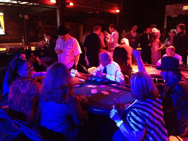 aces and eights casino nights party rentals