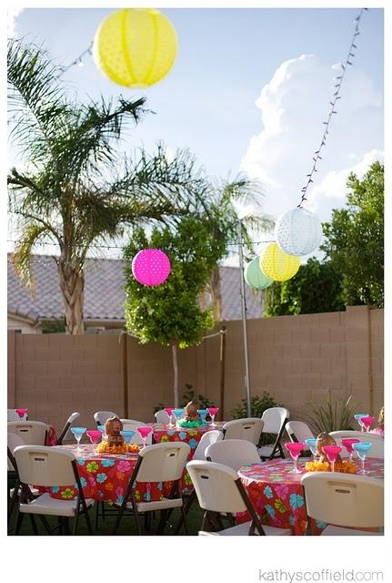 Kids Luau Birthday Party Ideas