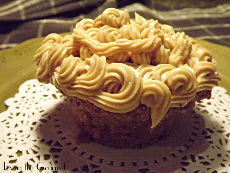 Chocolate Milk Cupcakes with Creamy Peanut Butter Frosting