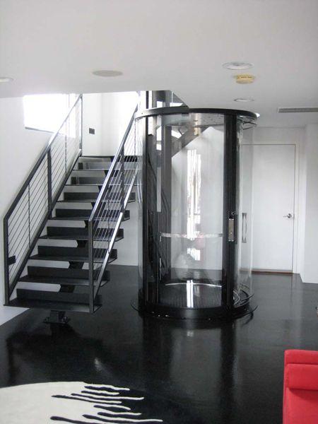 Home Commercial Glass Elevators Home Elevator Pinterest