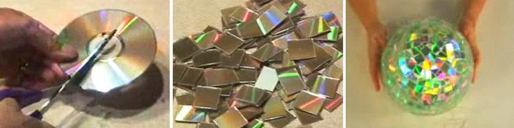 3 dicas de como reaproveitar CDs velhos | CicloVivo - Plantando Notícias