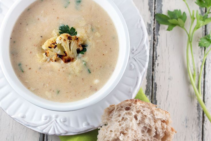 roasted cauliflower amp white cheddar soup omitting the potato for a ...