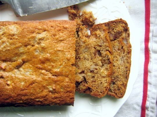 Recipe Review: Applesauce Nut Bread