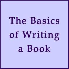 basics of writing a book