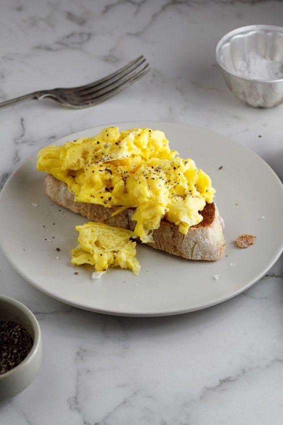 Basic Scrambled eggs | 3 ways with eggs #recipe #breakfast #vegetarian