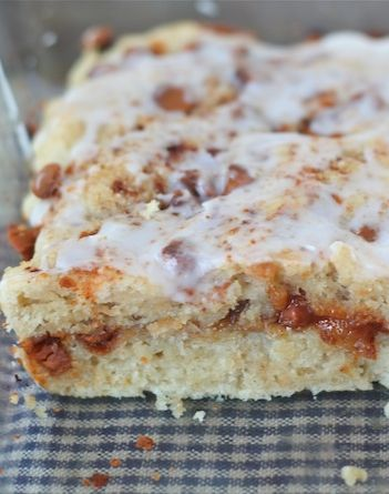 Gooey Cinnamon Biscuits Recipe on twopeasandtheirpod.com These easy ...
