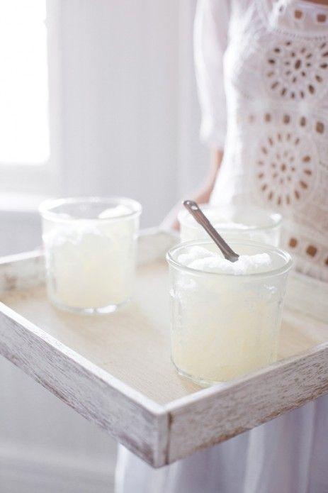 Lemon Granita   For a summery feel   Pinterest