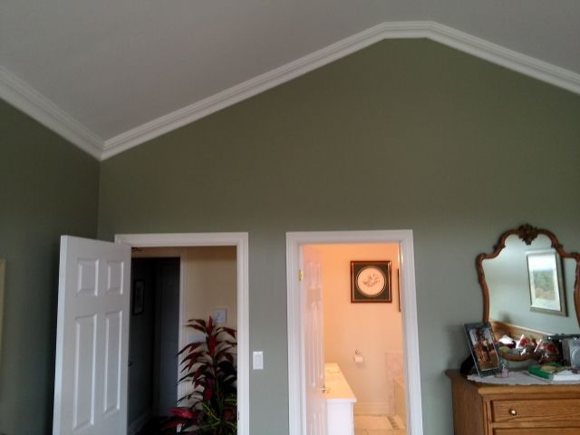 leveled off vaulted ceiling   Belterra house   Pinterest
