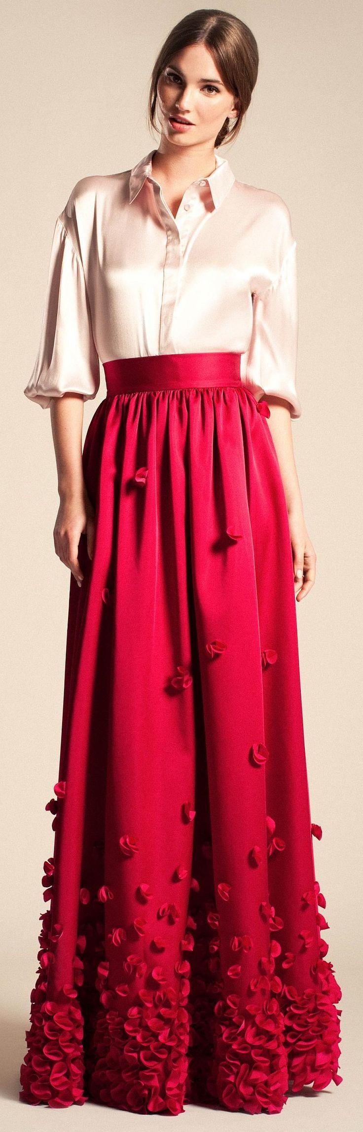 temperley evening maxi skirt after 5