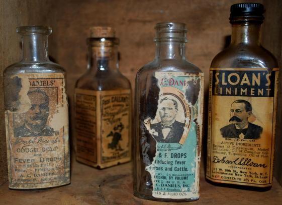 quack medicine bottles - photo #13