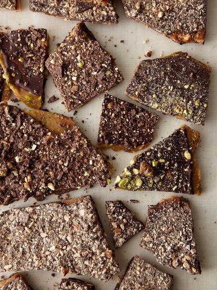almOnd hazelnut pistachiO tOffee | Food | Pinterest