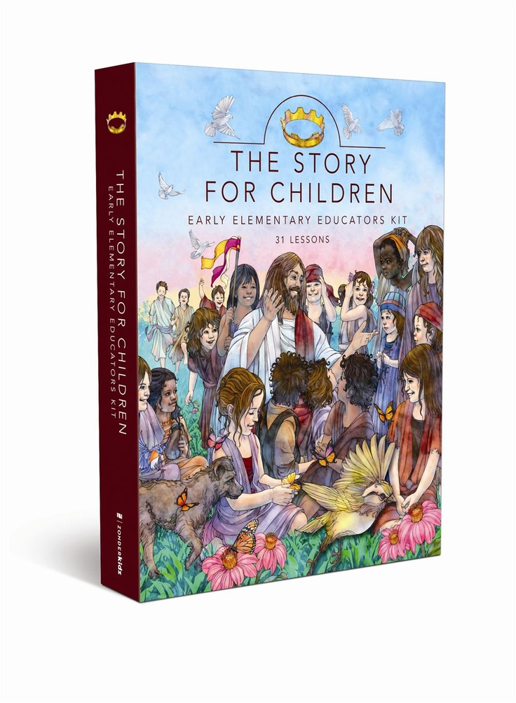The Story For Children Early Elementary Educator Kit. Help early elementary children experience God's great love by bringing his story to life! $59.97