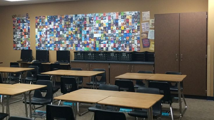 Classroom Decoration High School English : Updated photo of my quot reading wall high school english