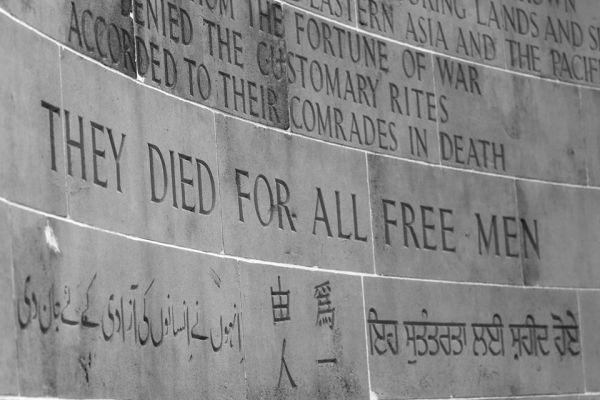 kranji war memorial remembrance day 2012
