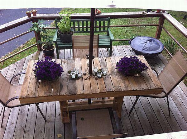 Pallet patio furniture instructions pallet furniture plans pinte - Pallet outdoor furniture instructions ...