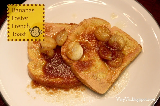 Bananas Foster French Toast | Very Vicky - Crafts and Recipes | Pinte ...
