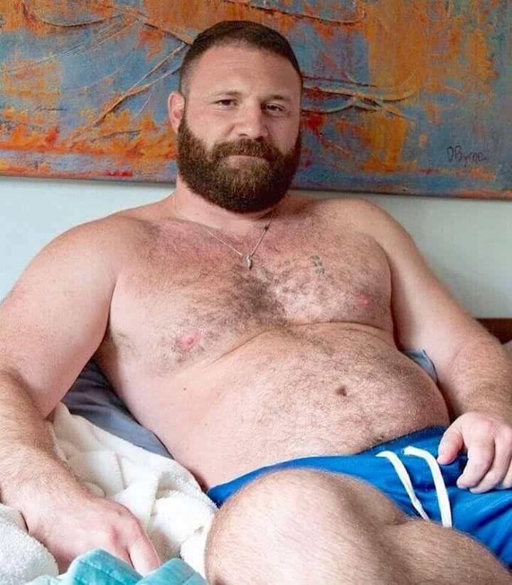 Секс бородатых геев без презерватива