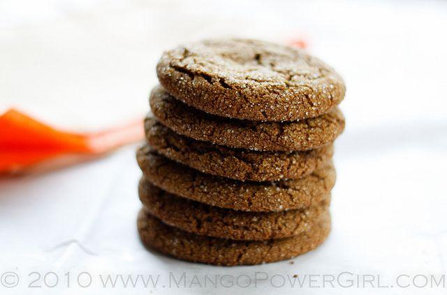 spicy molasses cookies | Food | Pinterest
