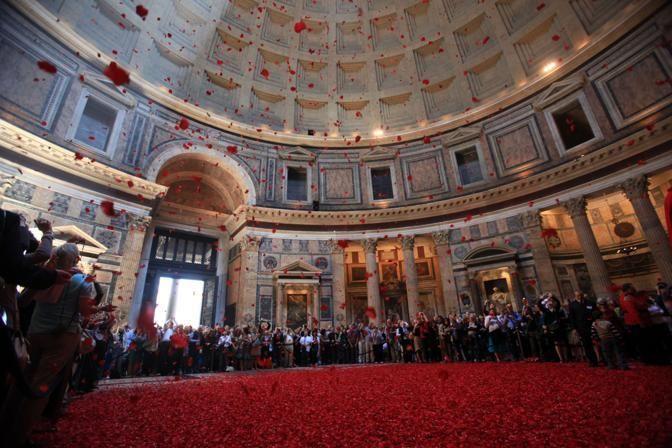 pentecost pantheon roma