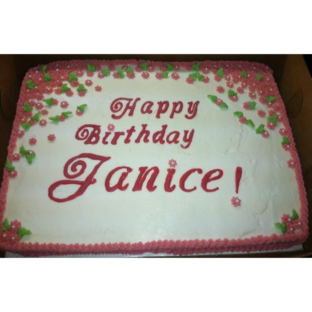 Happy Birthday Janice Cake Images