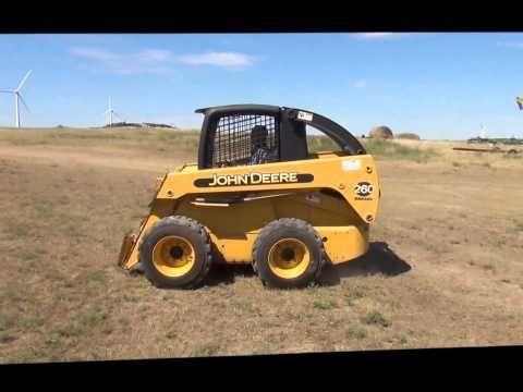 john deere 260 lawn tractor manual