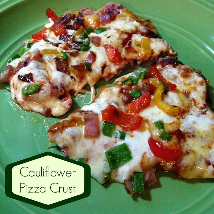 My Eating Clean Journey: Purple Cauliflower Pizza Crust vegetables ...