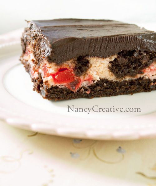 Chocolate covered cherry brownies | I Need to Exercise More | Pintere ...