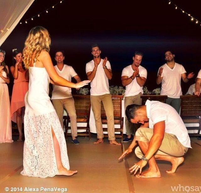 carlos pena alexa vega wedding photos