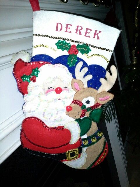Pin by Elena Vance on Homemade Christmas stockings | Pinterest