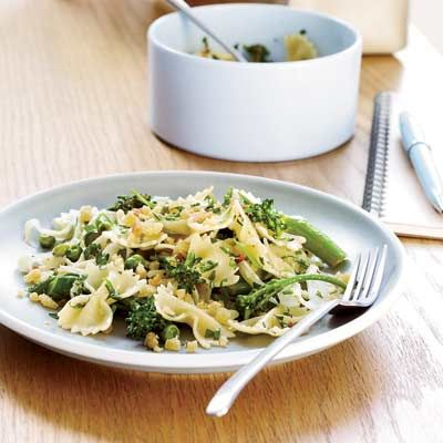 Farfalle with Spring Vegetables | Recipe