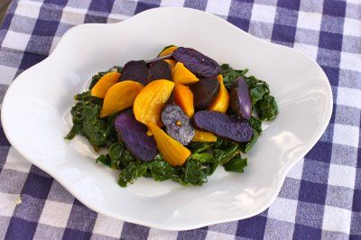 The Gypsy Chef: Golden Beet and Purple Potato Salad