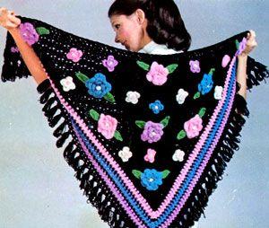 Crochet Patterns In Spanish : Spanish Shawl Free Patterns Yarn Crochet Pinterest