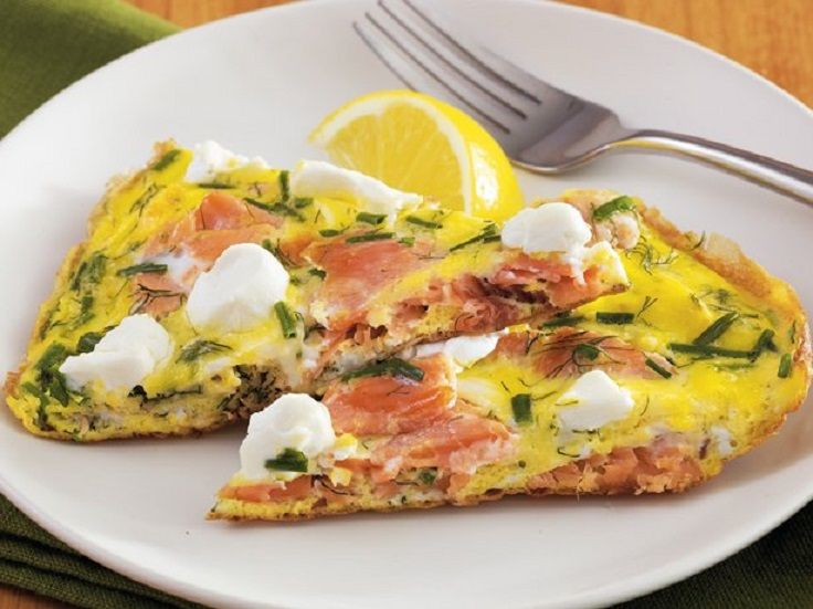 Smoked #Salmon and Herb #Frittata 15 Tasty Frittata Recipes | All ...
