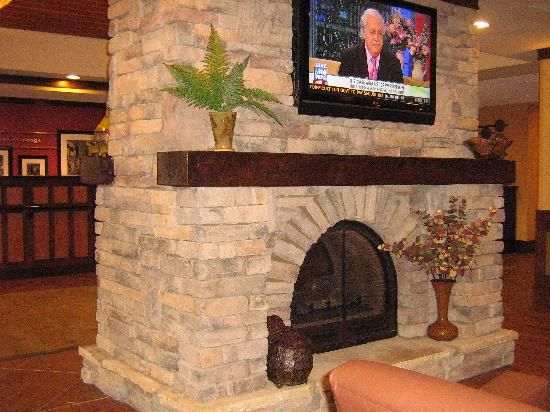 Stone Fireplace Stone Fireplaces Pinterest