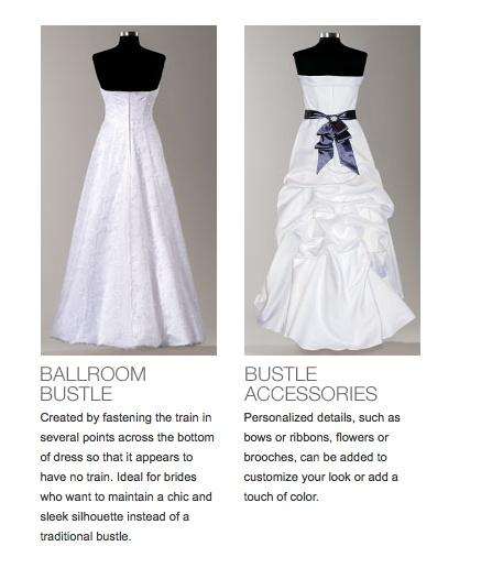 Db Bustle Options Wedding Dress Bustle Pinterest