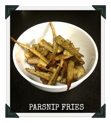PARSNIP FRIES RECIPE | Eats | Pinterest