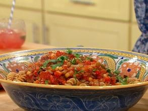 Fresh Summer Pasta Supper -- Ratatouille Style!